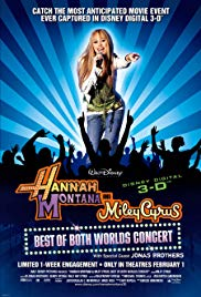 Watch Free Hannah Montana and Miley Cyrus: Best of Both Worlds Concert (2008)