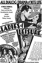Watch Free Ladies of Leisure (1930)