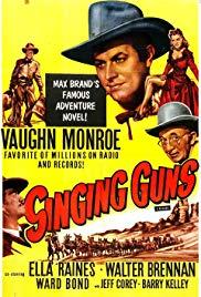 Watch Free Singing Guns (1950)