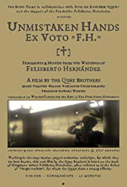 Watch Free Unmistaken Hands: Ex Voto F.H. (2013)