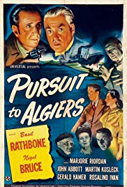 Watch Free Pursuit to Algiers (1945)