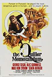 Watch Free The Quiller Memorandum (1966)