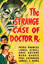Watch Free The Strange Case of Doctor Rx (1942)
