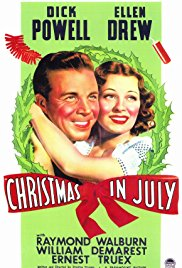 Watch Free Christmas in July (1940)