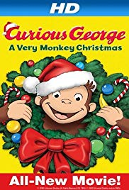 Watch Free Curious George: A Very Monkey Christmas (2009)