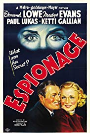 Watch Free Espionage (1937)