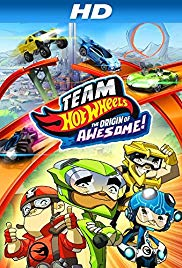 Watch Free Team Hot Wheels: The Origin of Awesome! (2014)