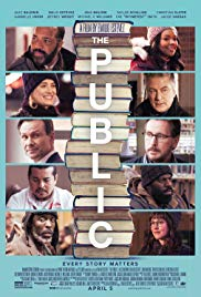 Watch Free The Public (2018)