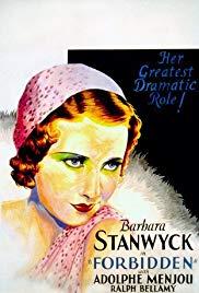 Watch Free Forbidden (1932)