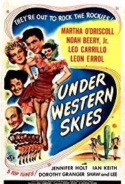 Watch Free Under Western Skies (1945)
