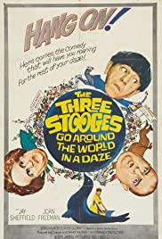 Watch Free The Three Stooges Go Around the World in a Daze (1963)
