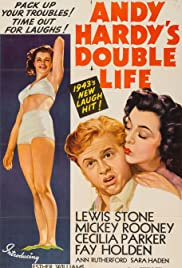 Watch Free Andy Hardys Double Life (1942)