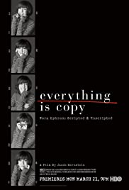 Watch Free Everything Is Copy (2015)