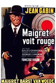 Watch Free Maigret voit rouge (1963)