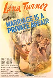 Watch Free Marriage Is a Private Affair (1944)