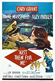 Watch Free Kiss Them for Me (1957)