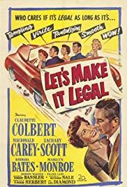Watch Free Lets Make It Legal (1951)