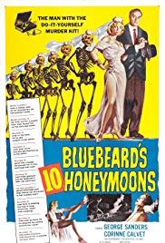 Watch Free Bluebeards 10 Honeymoons (1960)