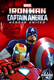 Watch Free Iron Man and Captain America: Heroes United (2014)
