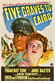 Watch Free Five Graves to Cairo (1943)