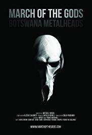 Watch Free March of the Gods: Botswana Metalheads (2014)