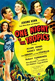 Watch Free One Night in the Tropics (1940)