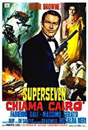 Watch Free Superseven chiama Cairo (1965)