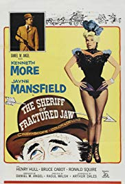 Watch Free The Sheriff of Fractured Jaw (1958)