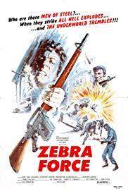Watch Free The Zebra Force (1976)