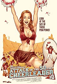 Watch Free Attack of the 50 Foot Cheerleader (2012)