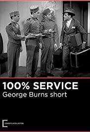 Watch Free 100% Service (1931)