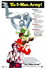 Watch Free The 5Man Army (1969)