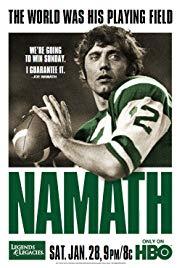 Watch Free Namath (2012)