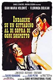 Watch Free Investigation of a Citizen Above Suspicion (1970)