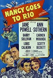 Watch Free Nancy Goes to Rio (1950)