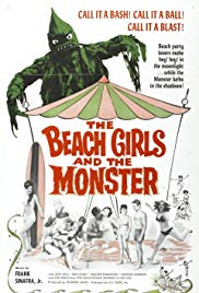 Watch Free The Beach Girls and the Monster (1965)