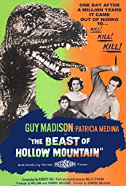 Watch Free The Beast of Hollow Mountain (1956)