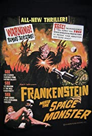 Watch Free Frankenstein Meets the Spacemonster (1965)