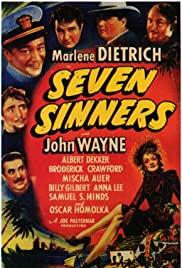 Watch Free Seven Sinners (1940)