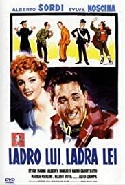 Watch Free Ladro lui, ladra lei (1958)