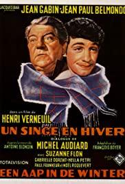 Watch Free A Monkey in Winter (1962)