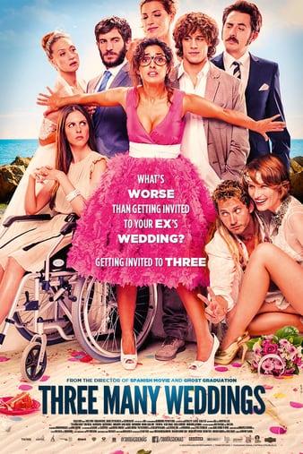 Watch Free Three Many Weddings (2013)