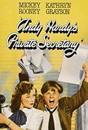 Watch Free Andy Hardys Private Secretary (1941)