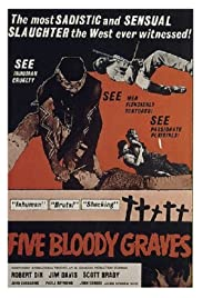 Watch Free Five Bloody Graves (1969)