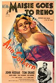 Watch Free Maisie Goes to Reno (1944)