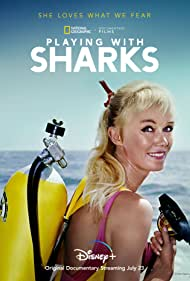 Watch Free Playing with Sharks: The Valerie Taylor Story (2021)