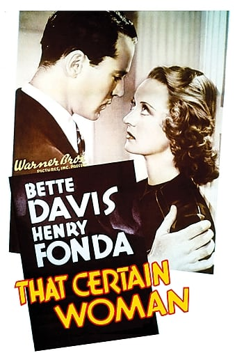 Watch Free That Certain Woman (1937)