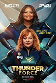 Watch Free Thunder Force (2021)