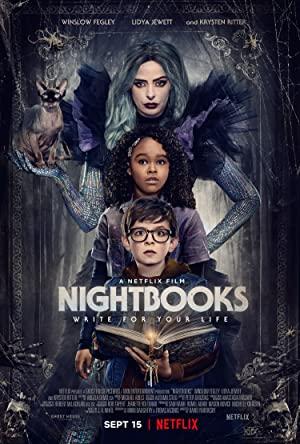 Watch Full Movie :Nightbooks (2021)