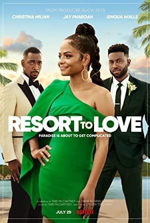 Watch Free Resort to Love (2021)